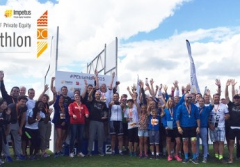 Tens of thousands raised at the Impetus-PEF Private Equity Triathlon