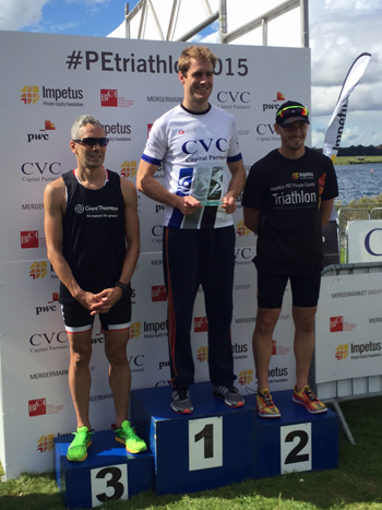 Tens of thousands raised at the Impetus-PEF Private Equity Triathlon3