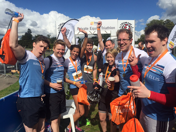 Tens of thousands raised at the Impetus-PEF Private Equity Triathlon4