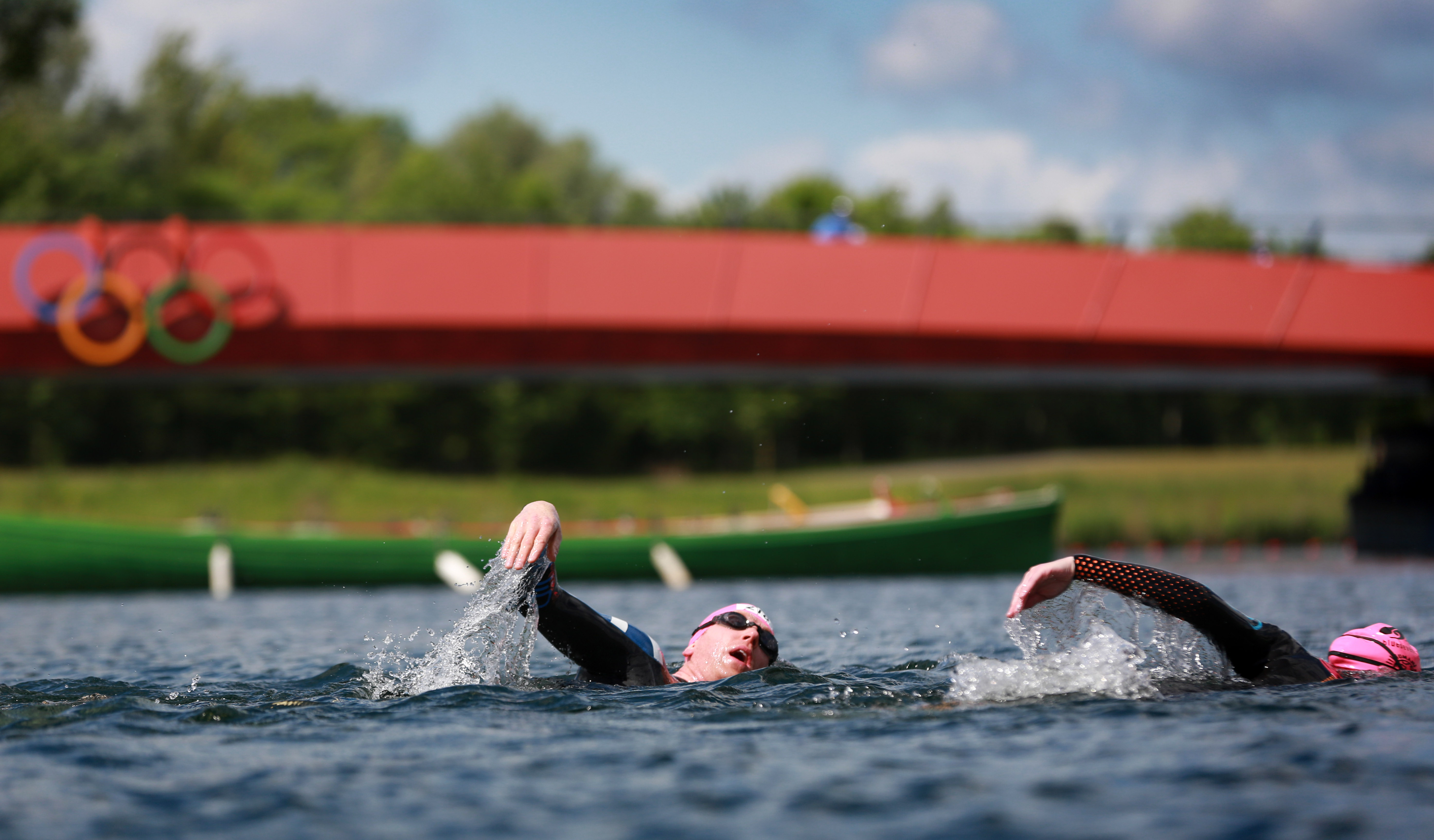 how to train for open water swim